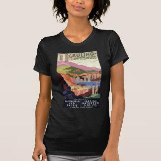 Vintage Visit Kuling Tourism Poster T-Shirt