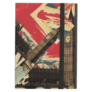 Vintage Visit London poster iPad Air Cover