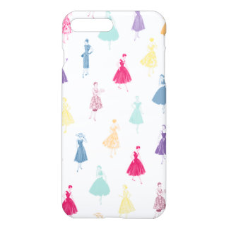 Vintage Vogue Ladies 1950s Dresses iPhone Case