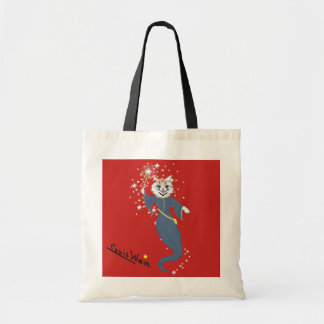 Vintage Wain Fairy Godmother Cat Art Tote Bag