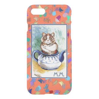 Vintage Wain Teapot Cat Art iPhone 7 Case
