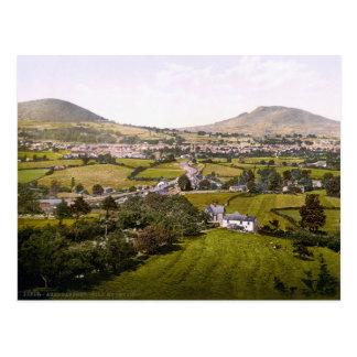 Vintage Wales, Abergavenny Holy Mountain Postcards