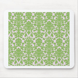Vintage Wall Paper Mouse Pad