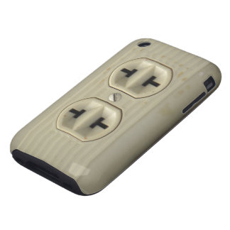 Vintage Wall Socket iPhone 3G Case Tough iPhone 3 Case
