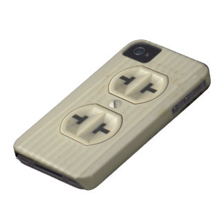 Vintage Wall Socket iPhone 4G Case