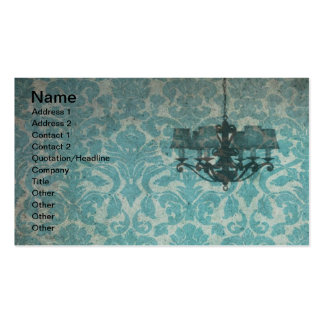Vintage Wallpaper and Chandelier Pack Of Standard Business Cards