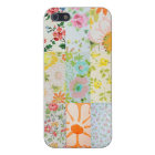 Vintage Wallpaper Patchwork iPhone 5 Case