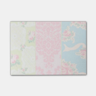 Vintage wallpaper post-it notes