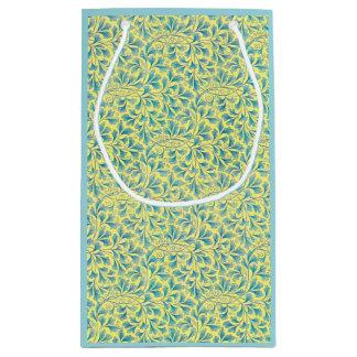 Vintage Wallpaper Repeating Pattern Small Gift Bag