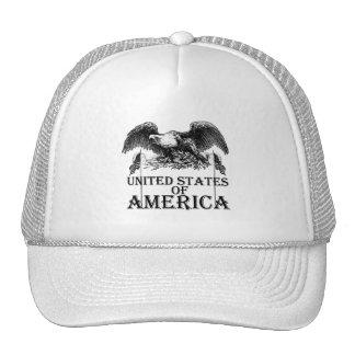 Vintage War Eagle Mesh Hats