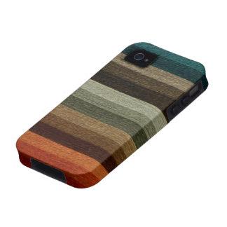 Vintage Warm Autumn Stripes iPhone 4 Cover
