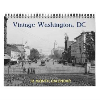 Vintage Washington DC Calendar