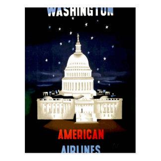 Vintage Washington DC Travel Postcard