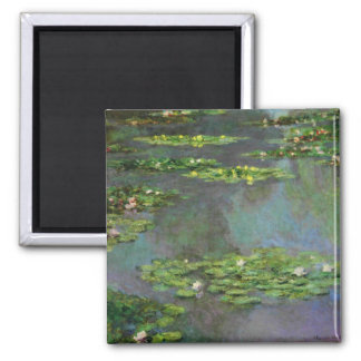 Vintage Water Lillies Magnet