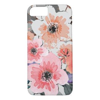 Vintage Watercolor Floral Pattern iPhone 8/7 Case