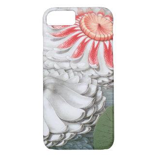 Vintage Waterlilies Flowers in a Garden Pond iPhone 8/7 Case