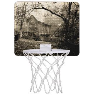 Vintage Waterwheel Mini Basketball Hoop
