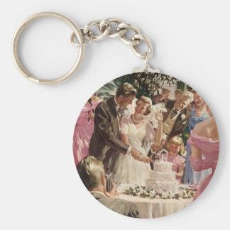 Vintage  Wedding Ceremony Key Chains