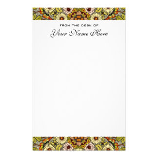 Vintage Wedding, Garden Flowers Floral Butterflies Stationery