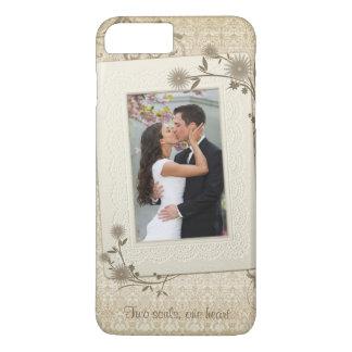 Vintage Wedding Photo Template iPhone 8 Plus/7 Plus Case