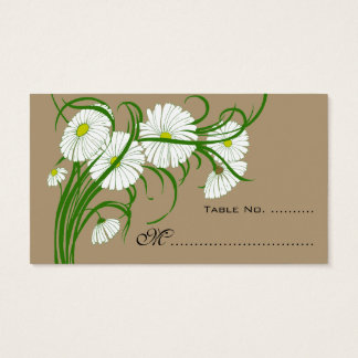 Vintage Wedding Table Numbers Gerber Daisy Flowers