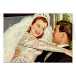 Vintage Wedding Thank You Card