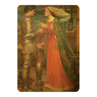 Vintage Wedding, Tristan and Isolde, Waterhouse Card