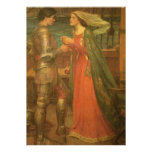 Vintage Wedding, Tristan and Isolde, Waterhouse Personalized Announcements