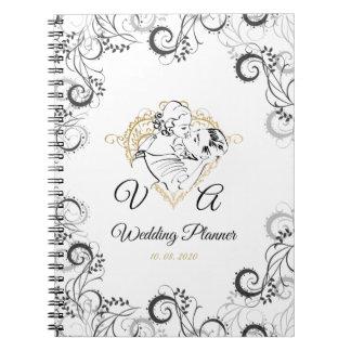 Vintage Wedding Wedding Planner Notebook