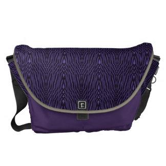 Vintage Weiner Werkstatte Design in Purple Messenger Bag