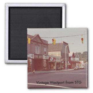 Vintage Westport Magnet - Fine Arts Theater