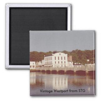 Vintage Westport Magnet - Steinkraus Cohen Bridge