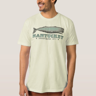 Vintage Whale Nantucket Massachusetts Inc 1671 T-Shirt