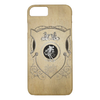 Vintage Whimsy Mouse knight shield iPhone 8/7 Case