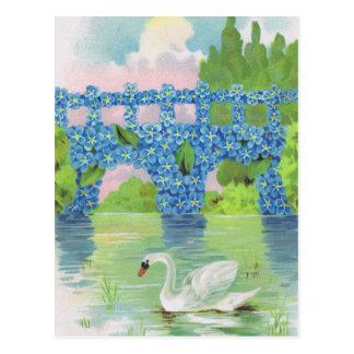 Vintage White Swan Cards