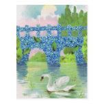 Vintage White Swan Cards Postcards