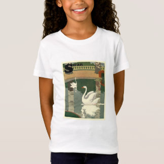 Vintage White Swans T-Shirt