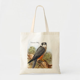 Vintage Wild Birds Illustration with Text Tote Bag