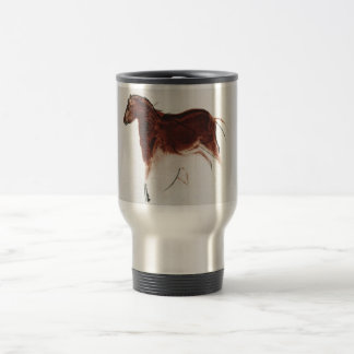 Vintage Wild Horse Cave Painting Mugs