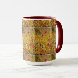 Vintage Wildflowers Henry Newman Mug
