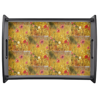 Vintage Wildflowers Henry Newman Serving Tray