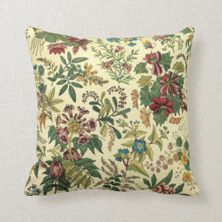 Vintage Wildflowers Pillow