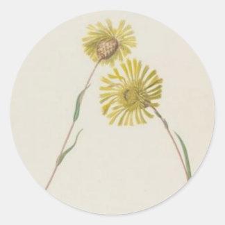 Vintage Wildflowers: Yellow Wildflowers Sticker