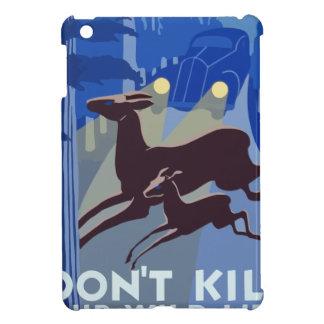 Vintage Wildlife Animal iPad Mini Covers