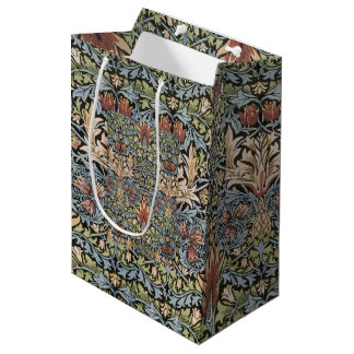 Vintage William Morris Artichoke Medium Gift Bag