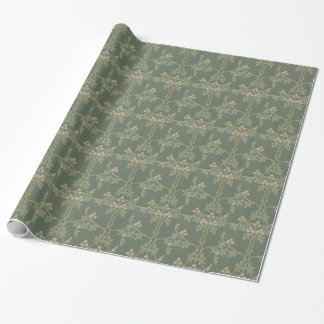 Vintage William Morris Blackberry Floral GalleryHD Wrapping Paper