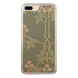 Vintage William Morris Blackberry GalleryHD Art Carved iPhone 8 Plus/7 Plus Case