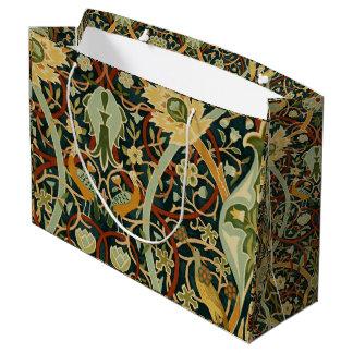 Vintage William Morris Bullerswood Carpet Large Gift Bag