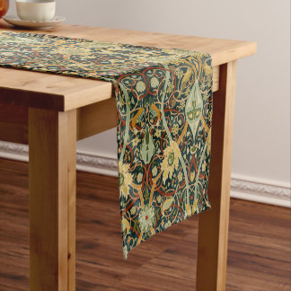 Vintage William Morris Bullerswood Carpet Short Table Runner