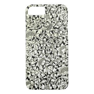 Vintage William Morris Deocrative Textile Pattern iPhone 8/7 Case